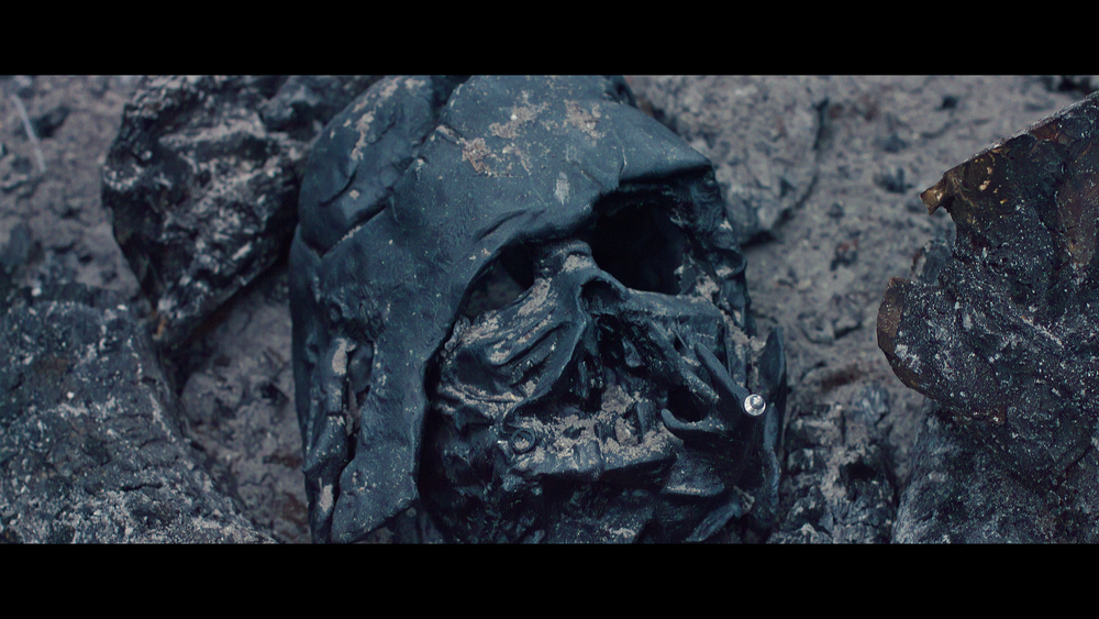 Darth Vader's funeral pyre.