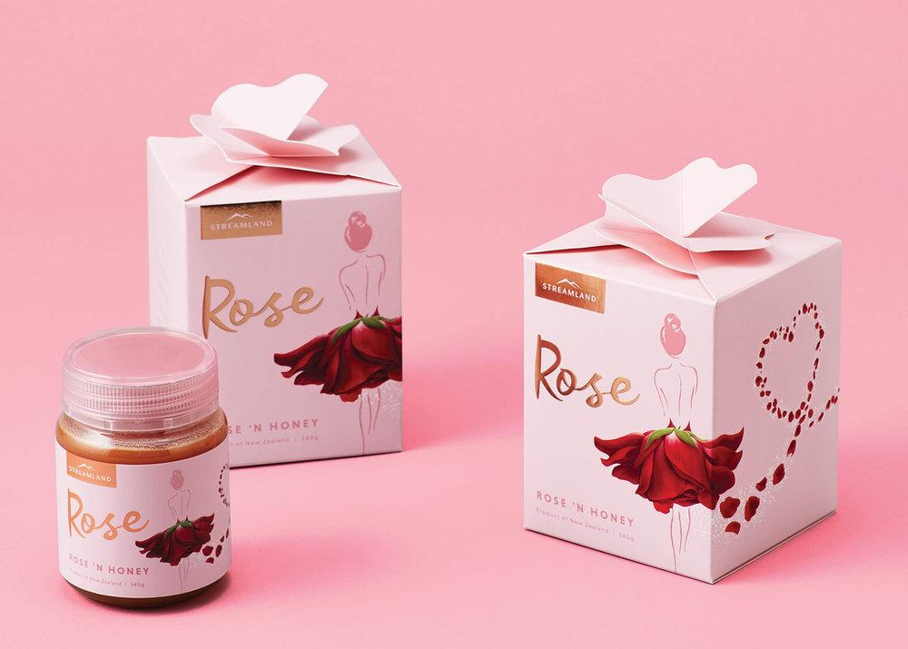 hyper real rose petals