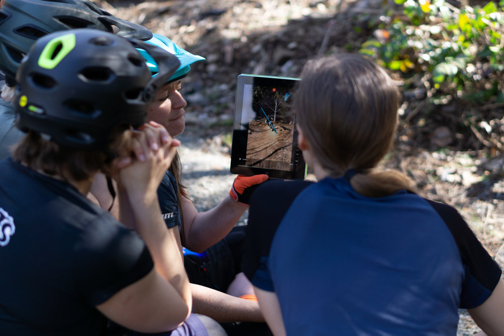 Trail-side classroom with world class coaching
