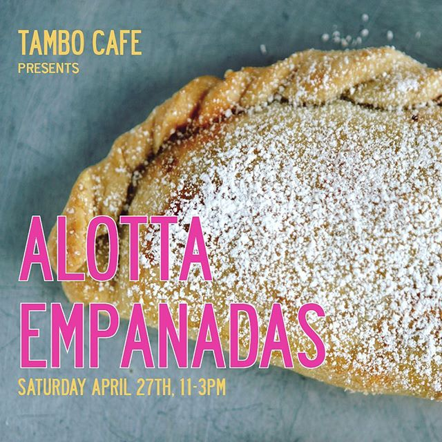 EVENT ALERT On Saturday April 27th we are having two fabulous female chefs @isabelfoodgirl and @farmchefjen create their own empanada fillings.  We will be making 50 minis of each so you can sample all flavors.  The event starts at 11am and will go til sold out! . . #peruvianstyle #peruvian #ajidegallina #comfortfood #peruvianfood #peruviansdoitbetter #pancaperuvian #northcountysd #oceanside #oside #southo #rotisseriechicken #farmtotable #localsknow #chifa #quinoa #specialtyproduce #alfajores #lucuma #empanadas #sandwiches #sanguches