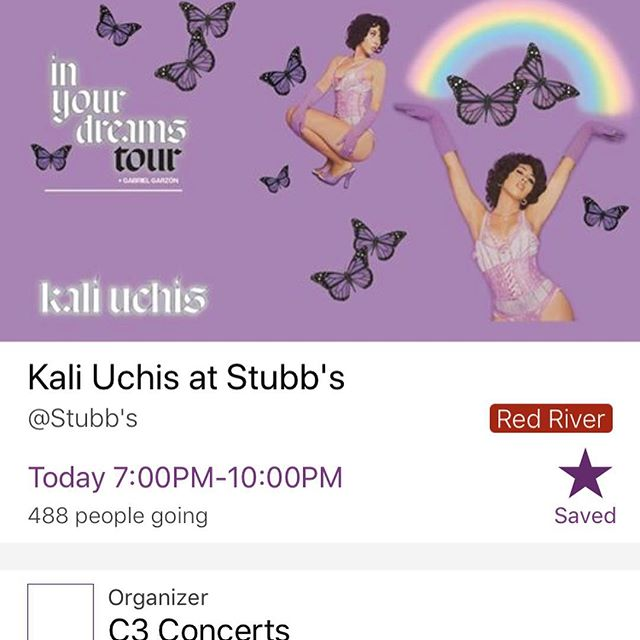 Our top pick for tonight? • • @kaliuchis is gonna kill it at @stubbsaustin tonight. Don't miss it. #wwwatx #live #atx