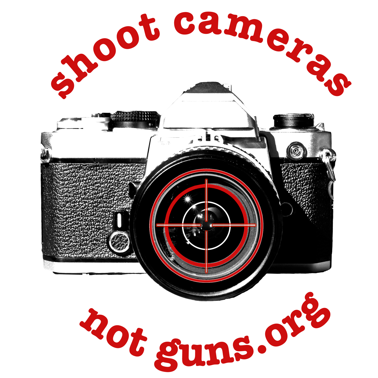 Shoot Cameras Not Guns