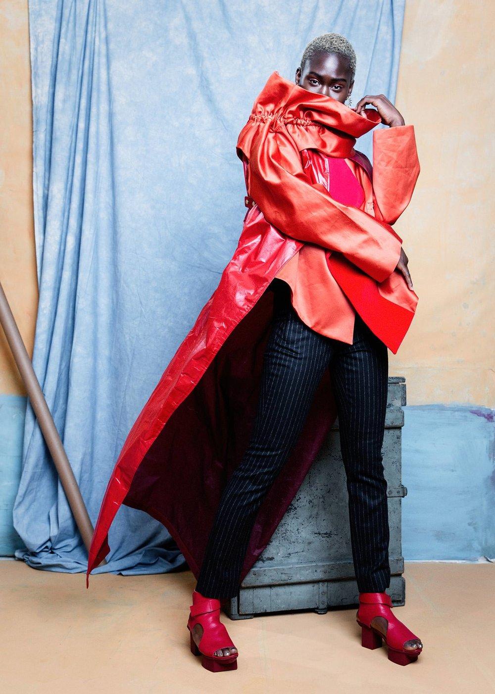 Fashion Editorial with Aminata 02