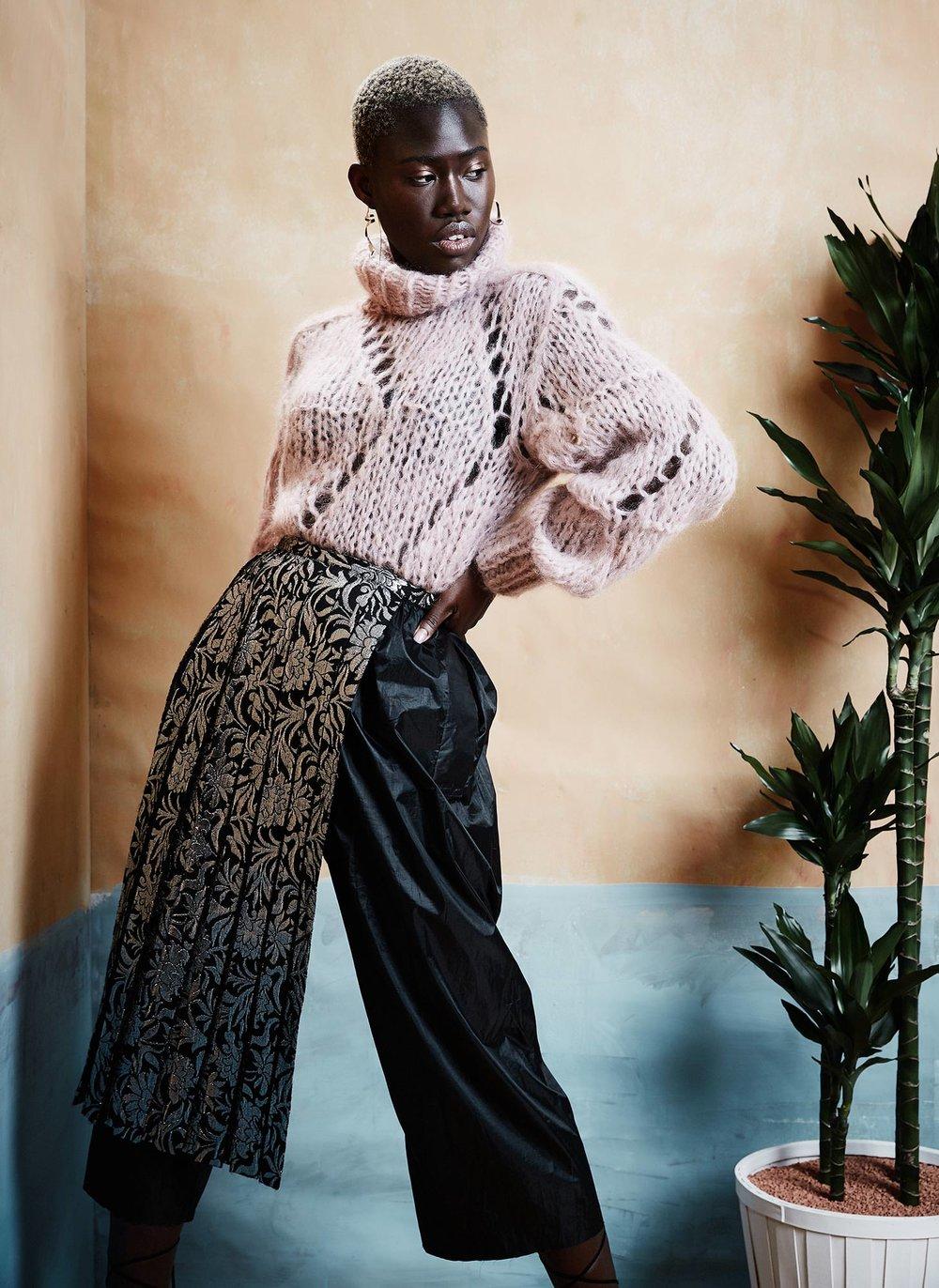 Fashion Editorial black woman