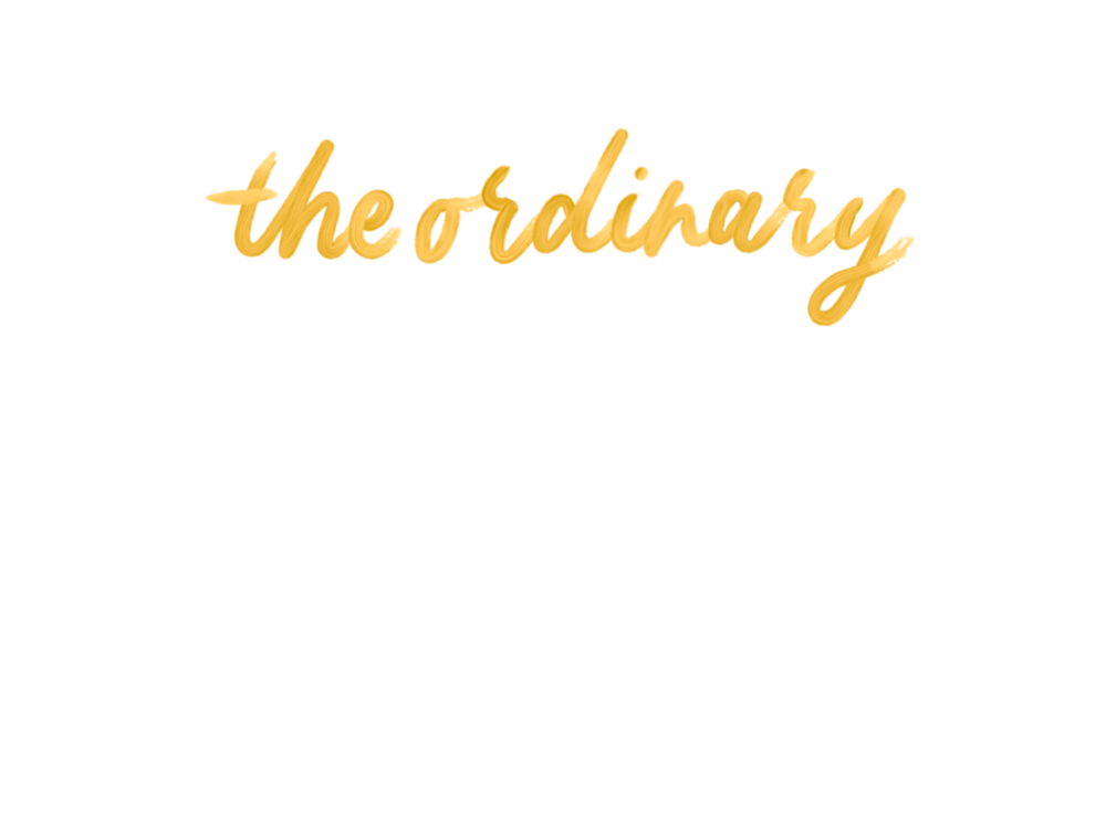 theordinary header