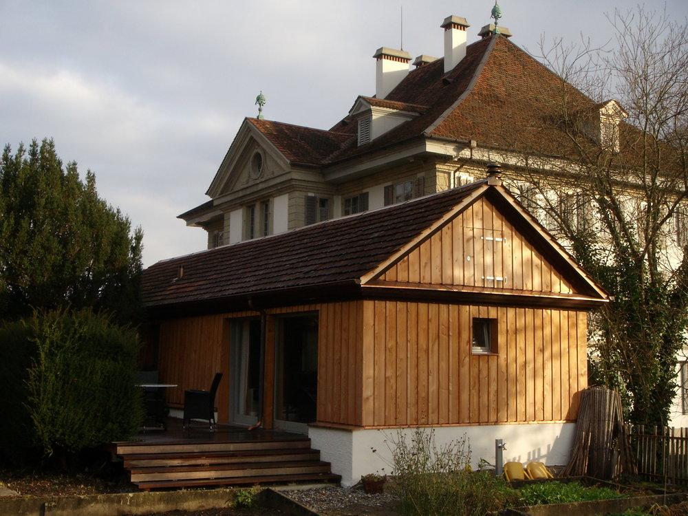 Blick auf die Atelier-Wohnung, wo Mirko Bonné gearbeitet hat. Foto: Literaturhaus.