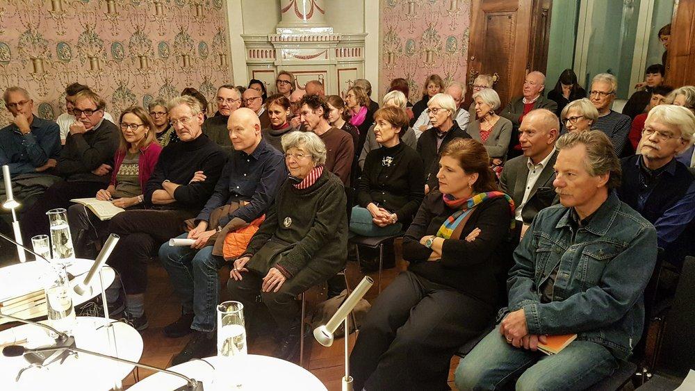 Impression von einer unserer Veranstaltungen. Foto: Miklós Klaus Rózsa.