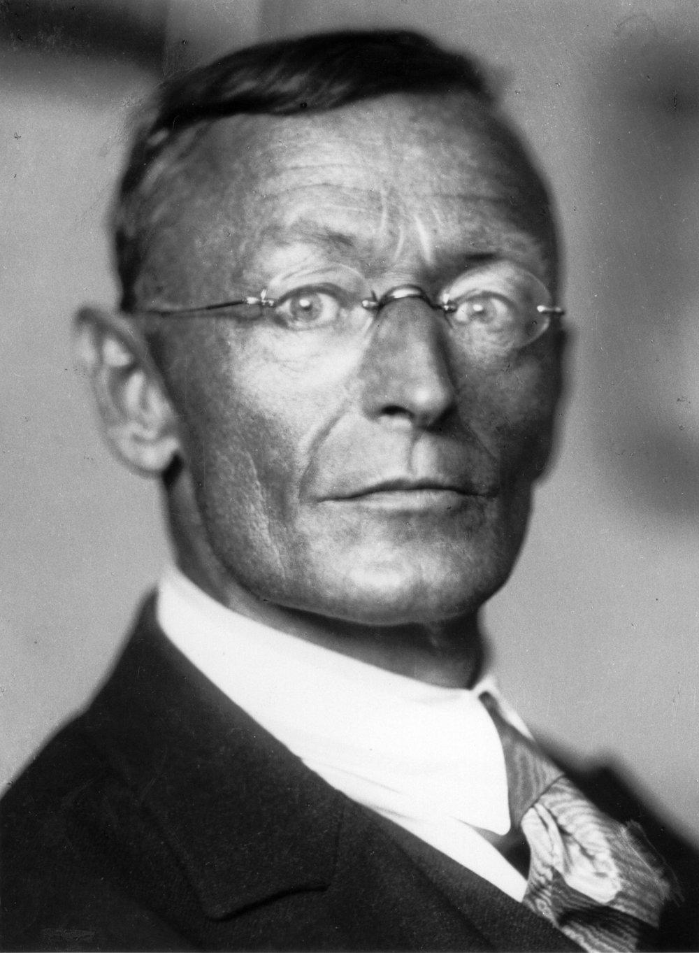 Hermann Hesse. Foto: Gret Widmann/Suhrkamp.