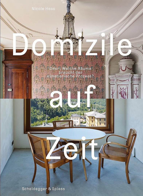 Cover der Buchpublikation. Rechte beim Verlag Scheidegger & Spiess.