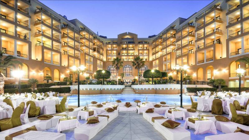 Corinthia hotel St George's Bay   St. George's Bay, St. Julian's, STJ 3301  T: +356 21374114 E: stgeorges@corinthia.com