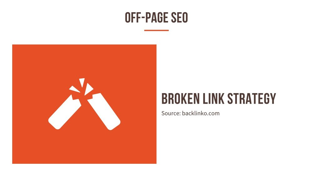 Broken link strategy