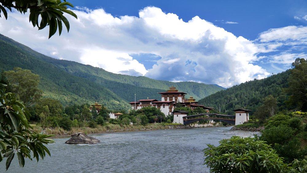 Dzongen i Punakha