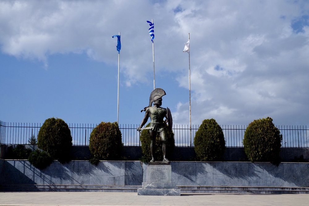 Spartas hjälte Leonidas