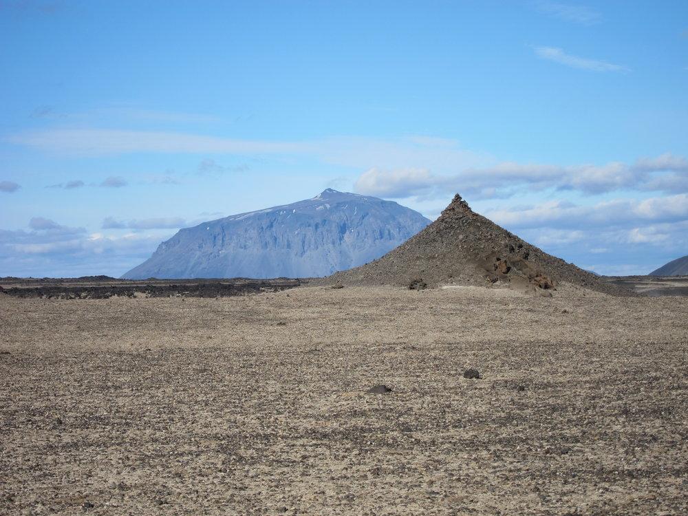 Berget Herðubreið