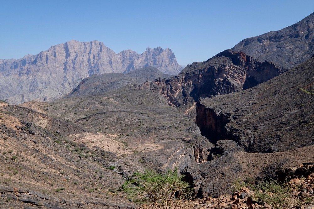 Snake Canyon i Wadi Bani Awf