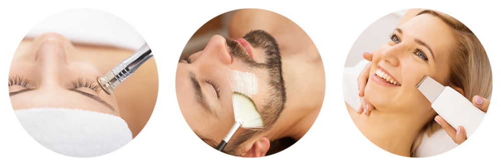 Microdermabrasion, Men's Facial, Ultrasonic Facial