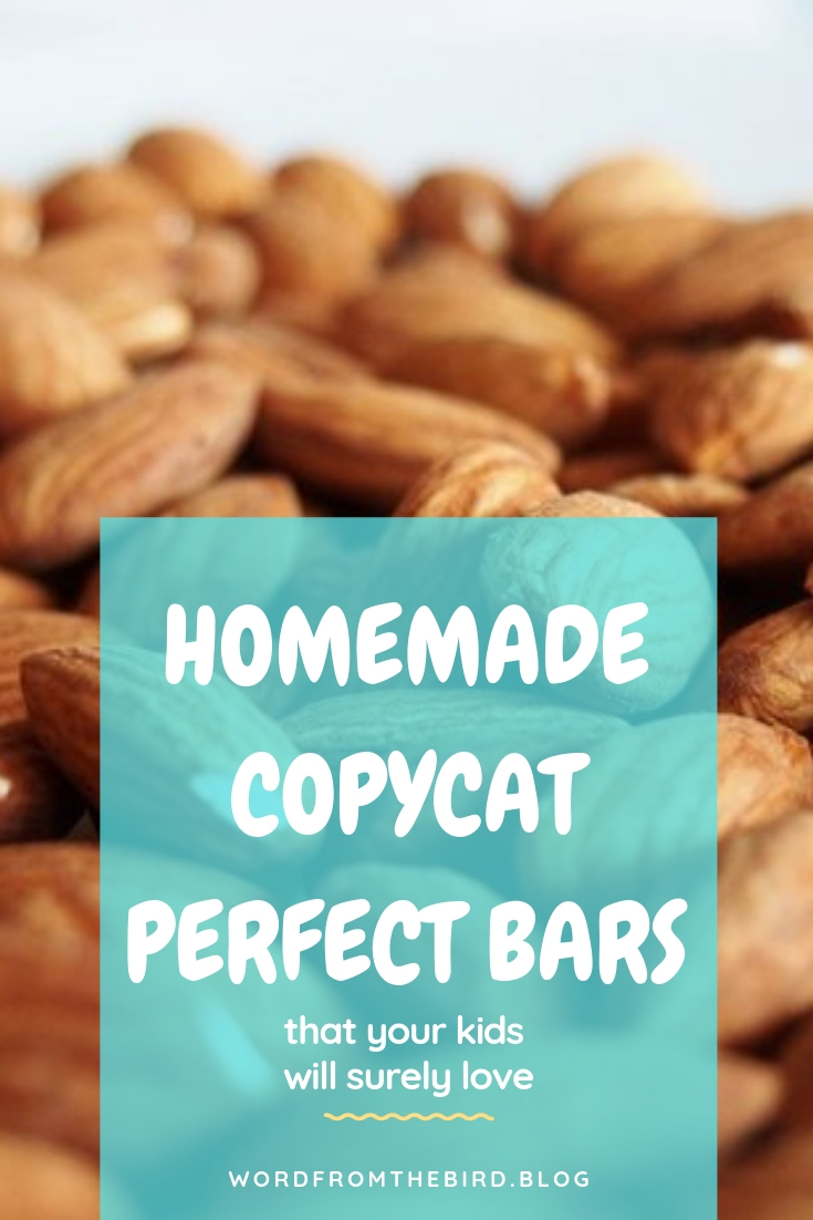 If you're looking for a bar that is the perfect breed of LARA and Perfect Bar, then this is your spot. This recipe is healthy and delicious! #perfectbar #larabar #homemade #copycat #recipe #healthy #kids #snacks #protein #workout #preworkout #postworkout #maple #almond