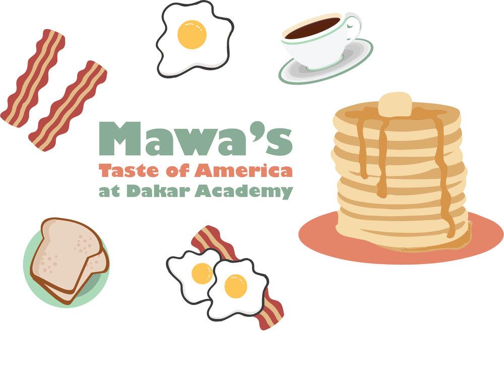 Dakar's top restaurant for American breakfast has started serving at Dakar Academy.