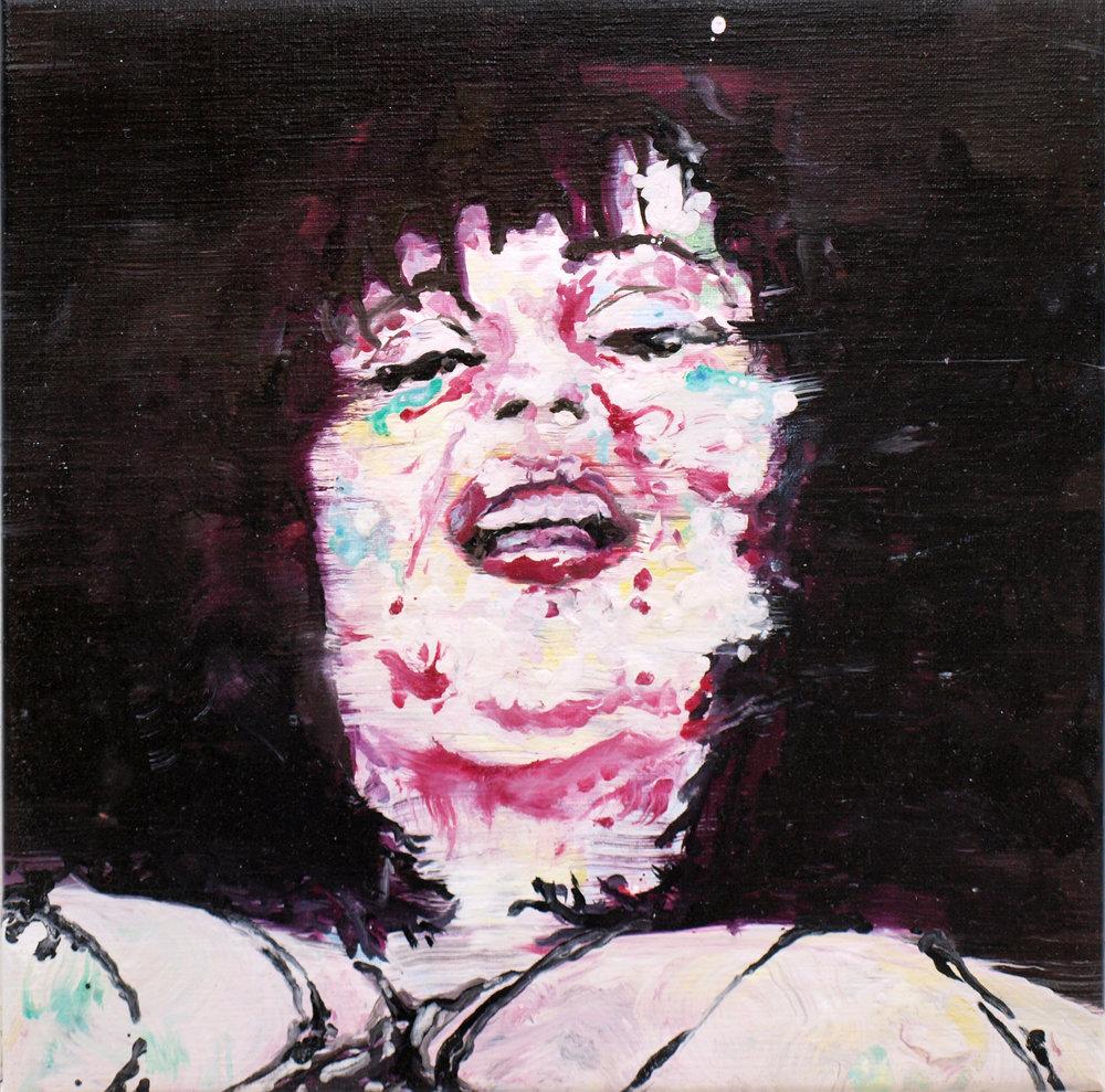 """Renaissance circus I"" oil on linen 50x50 cm 2012"