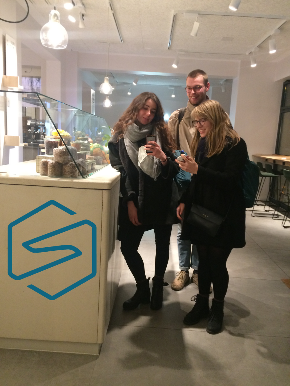 Your hardworking SWM team, occupying Berlin's coworking spaces until they close!