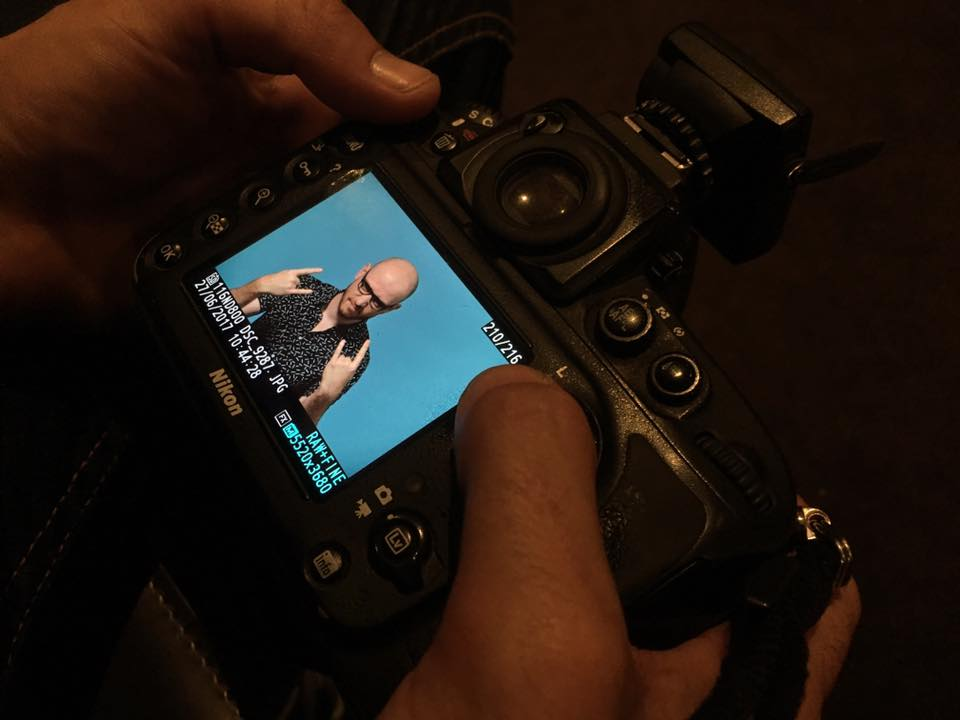 camera making of shooting photo