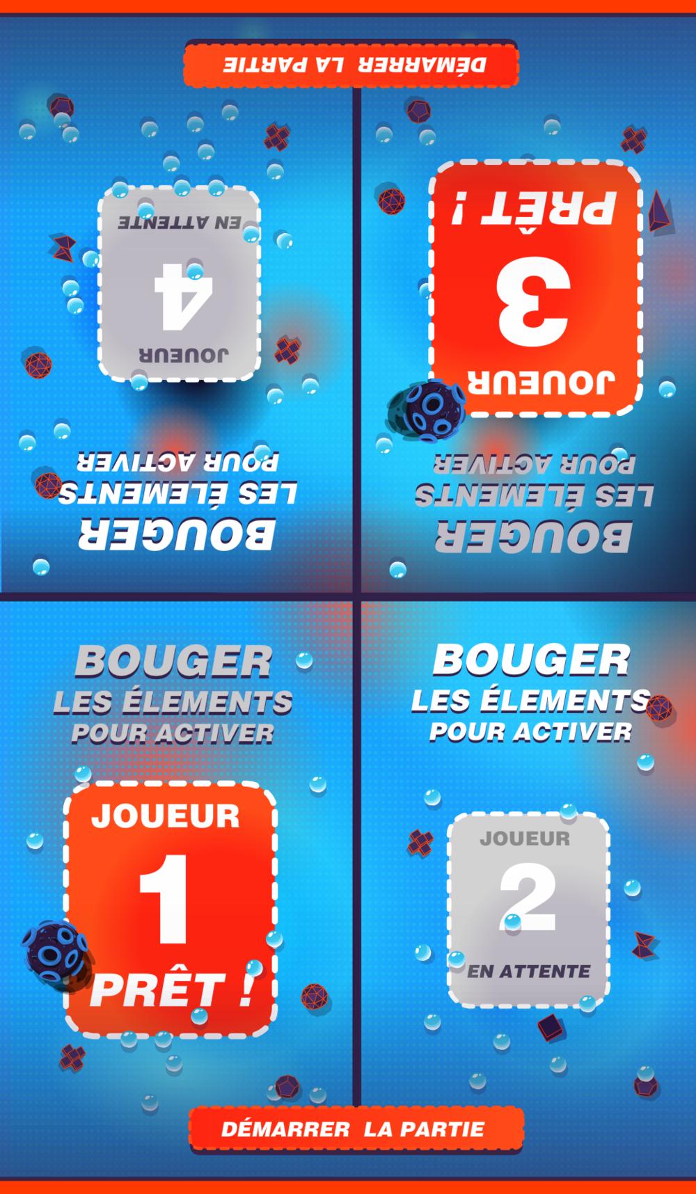 Quizz - menu joueurs