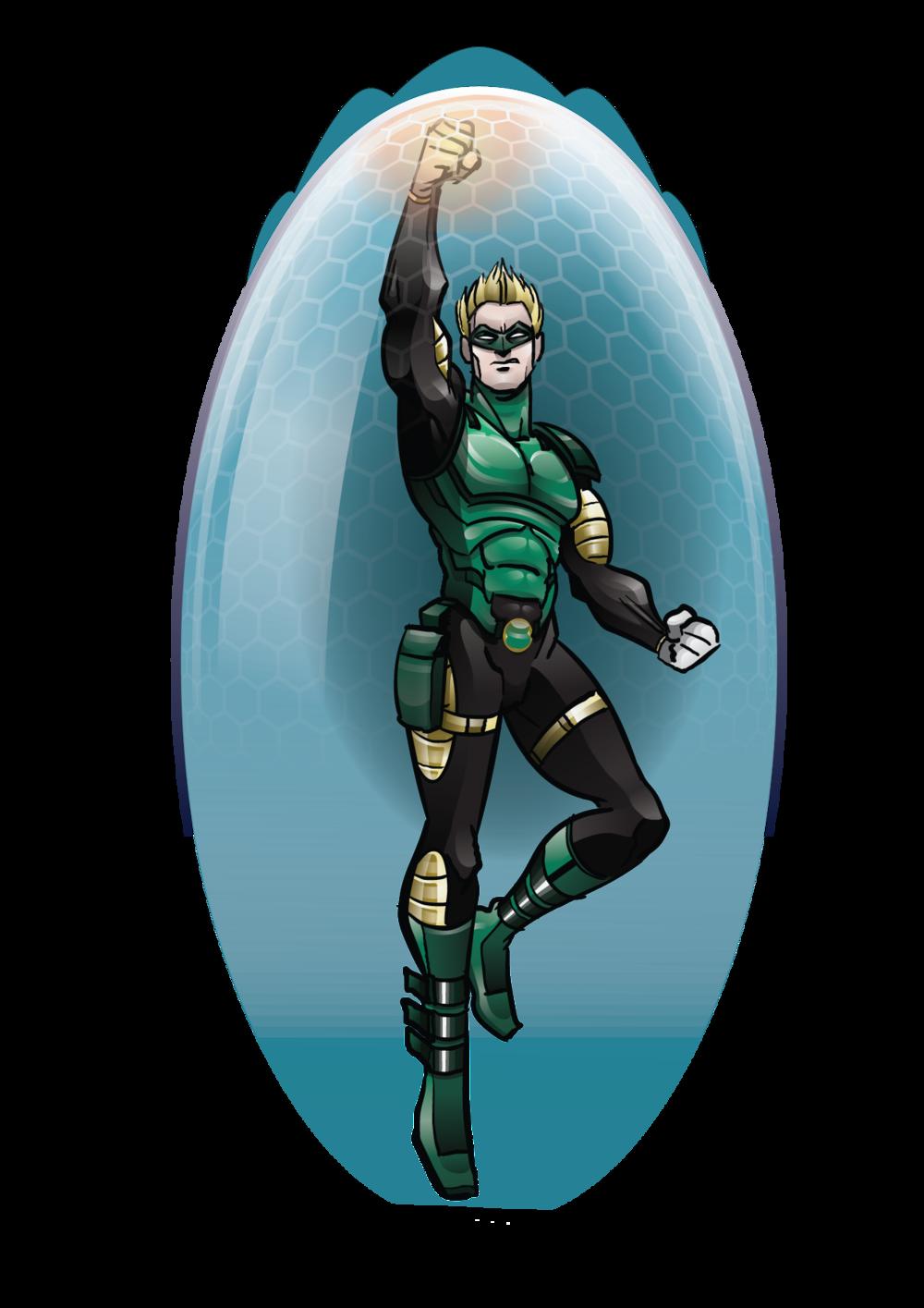 super héros silca