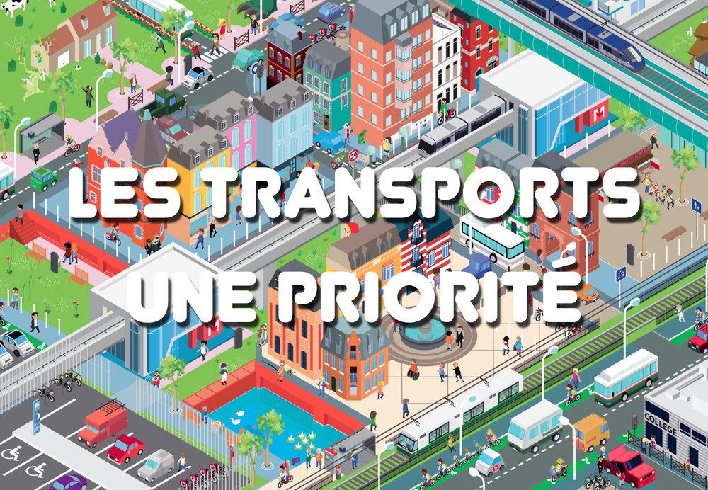MEL - les transports, une priorité