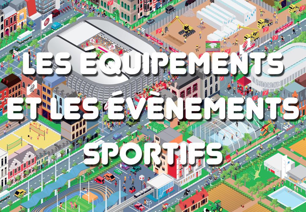 MEL - équipements et événements sportifs
