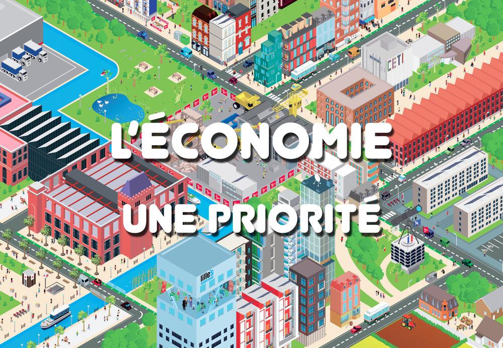 MEL - l'économie, une priorité