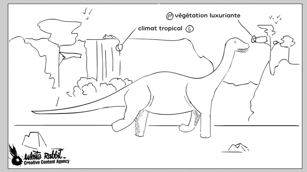 animation dinosaure dessin