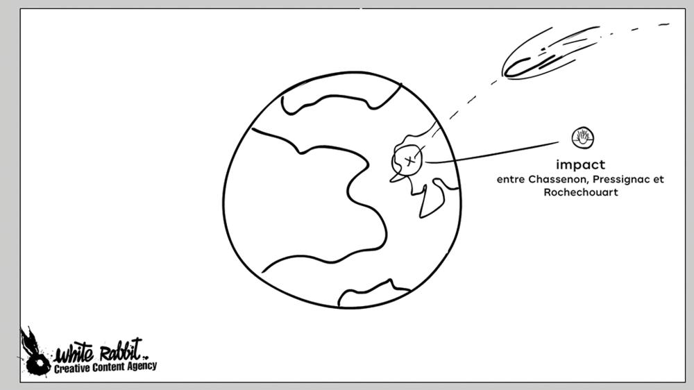 animation terre dessin
