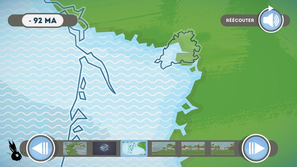 recul mer formation territoire perigord