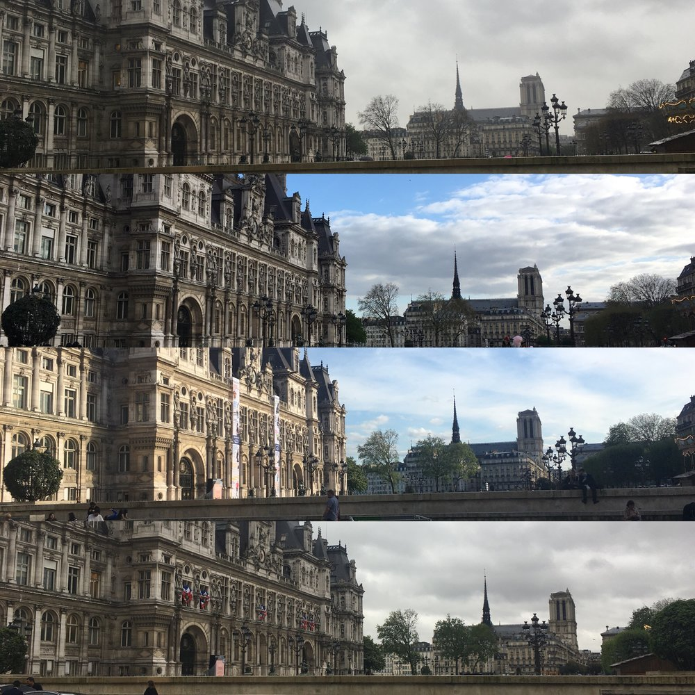 A month of my views from the metro