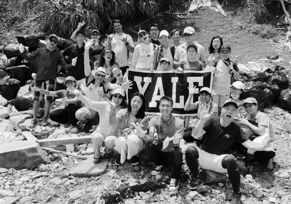 YALE x HK CLEAN UP x V CYCLE   Lap Sap Bay cleanup   Read more