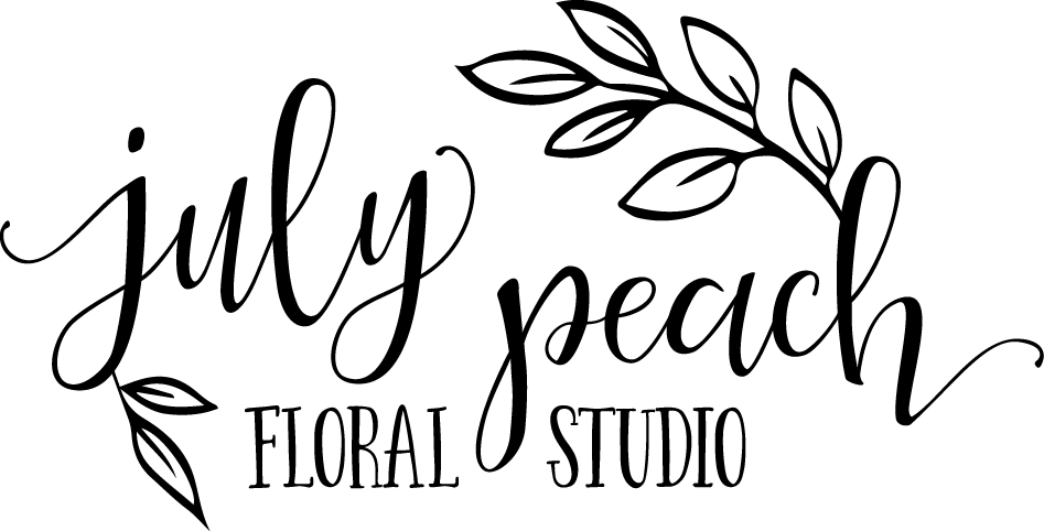 July Peach Floral Studio