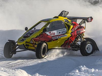 #34 Antti Suutarinen - Seura: JoeUAAuto: Speedcar Xtrem / Suzuki