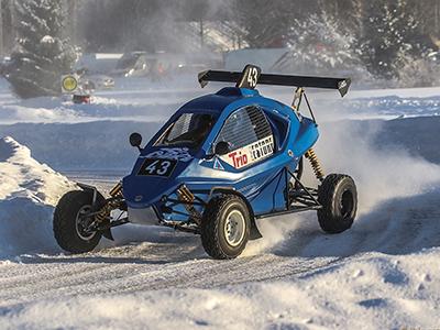 #43 Lauri Fröjdman - Seura: HyUAAuto: Speedcar Xtrem / Suzuki