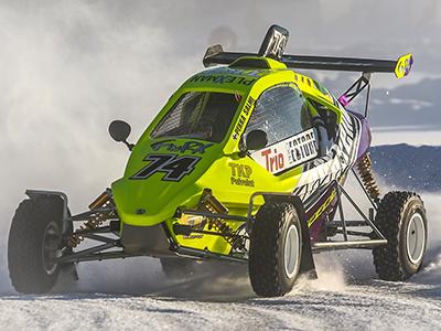 #74 Pekka Salmi - Seura: HyUAAuto: Speedcar Xtrem / Suzuki