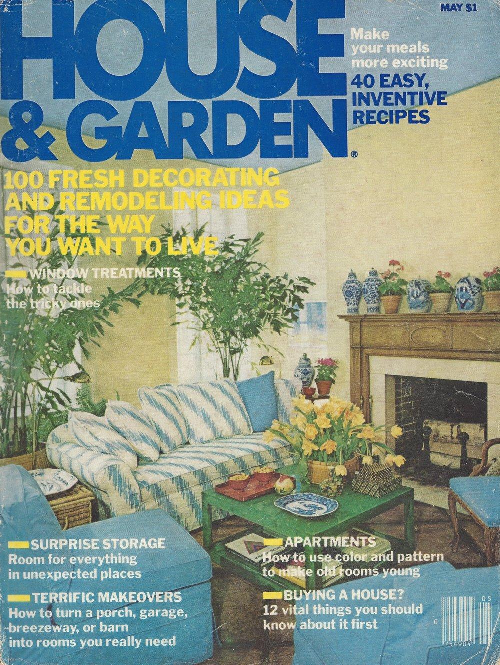 House & Garden, May 1978