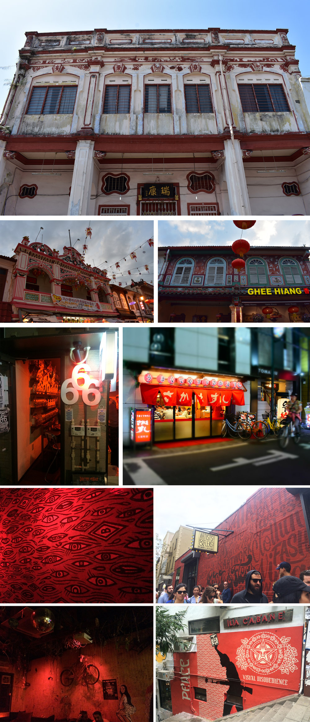 All photography is mine from travels in Malaysia, Bali, Hong Kong, Shanghai, Tokyo & New York.
