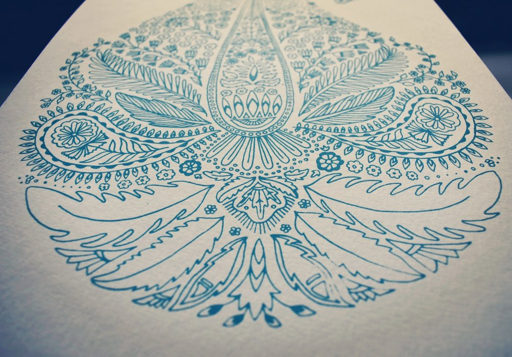 Paisley print from the collection