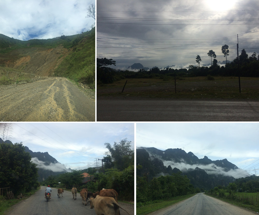 Views on the way to Luang Prabang