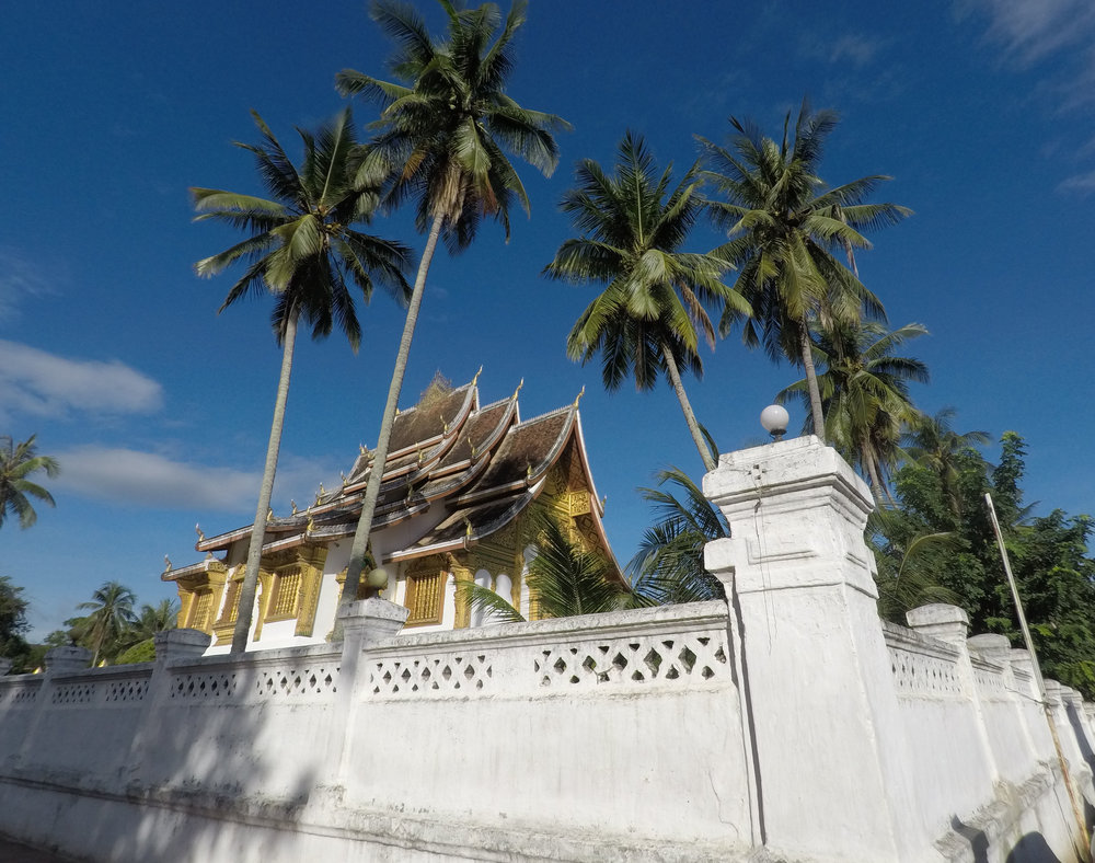 Haw Pha Bang of the Royal Palace which was built for King Sisavangvong during the French Colonial Era.