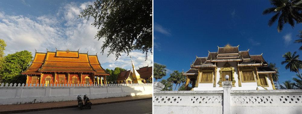 Vat Sensoukharam & Haw Pha Bang