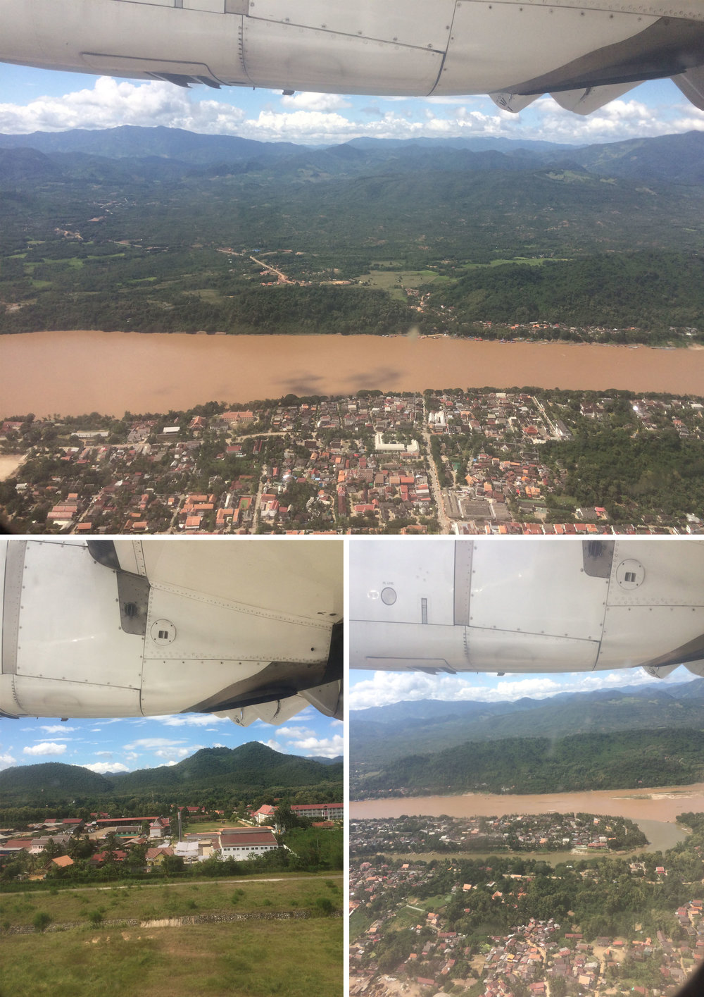 Luang Prabang from above