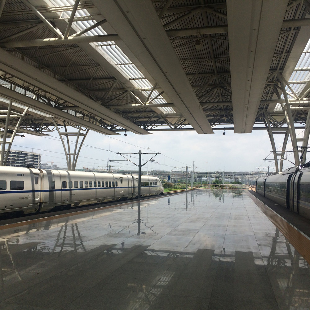 High Speed train from Shanghai to Hangzhou