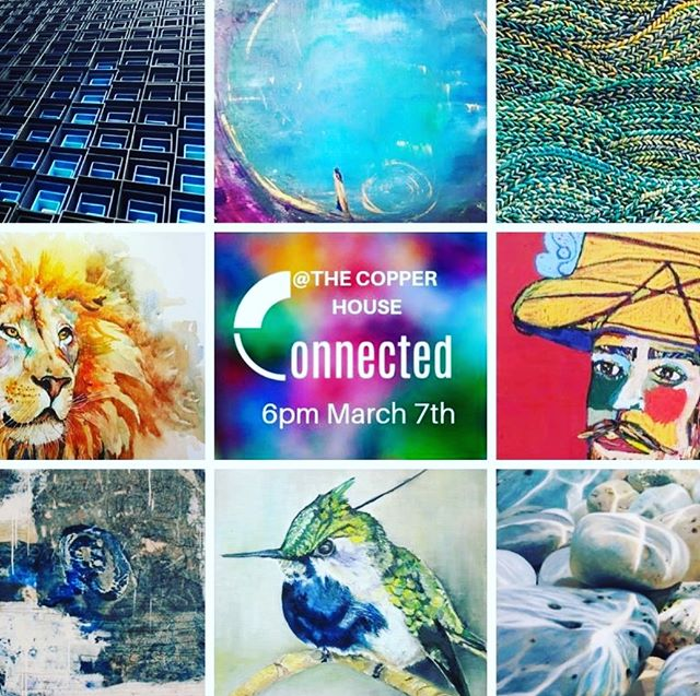 Put 7th March in the diary folks cos you're invited to the opening of an exhibition I'm taking part in with 11 other fabulous artists and photographers. It's taking place in the @thecopperhse from 6pm. Come and join us for a great evening of art and connection