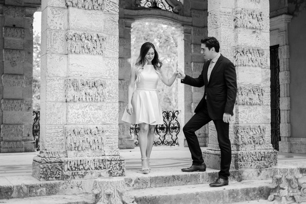 Vizcaya Museum Engagement Photos Dipp Photography.jpg