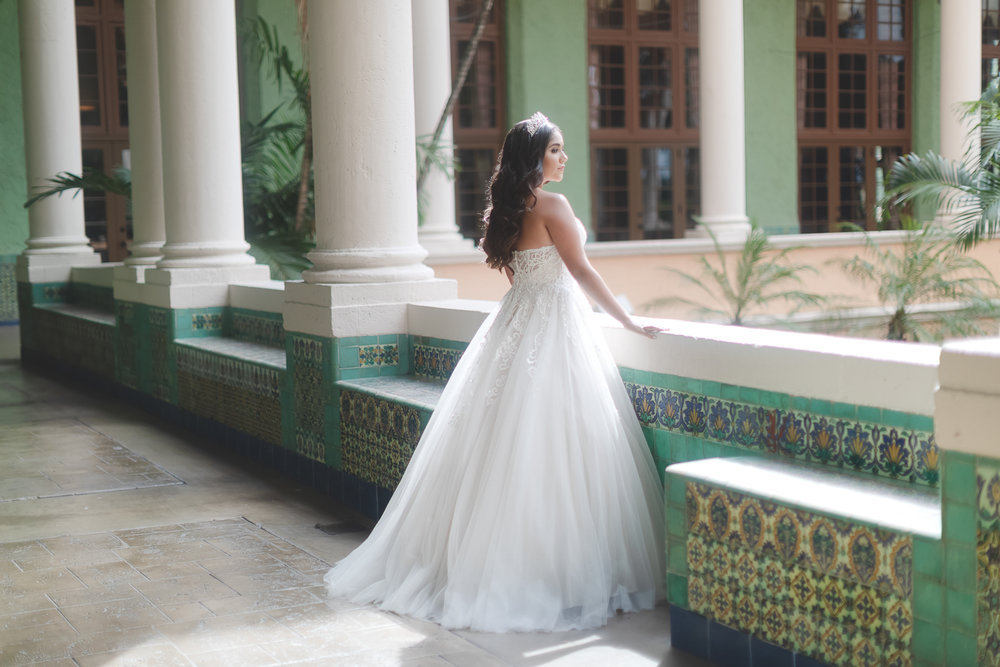Miami Quinceanera Photographer - Biltmore Hotel Quince Photography